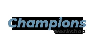 Workshop para Formação de Champions
