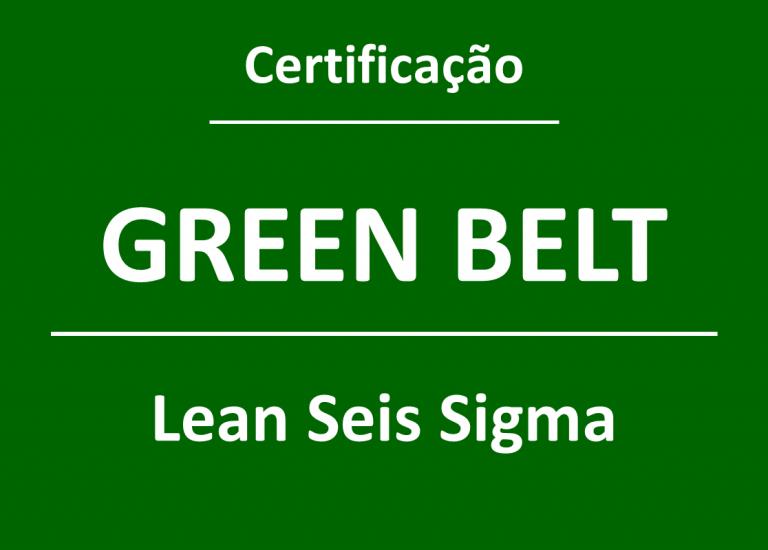 Certificação de Belts do Lean Seis Sigma